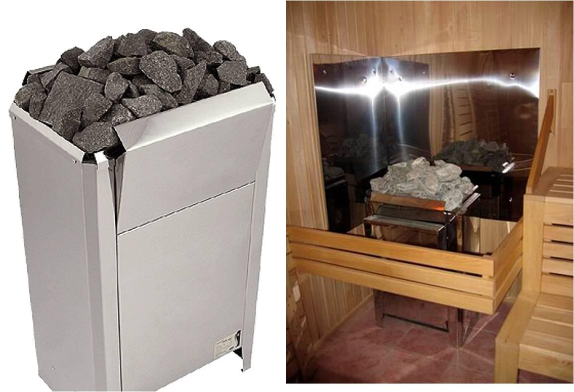 безынерционный ленточный и плоские электронагреватели для каменки кристина